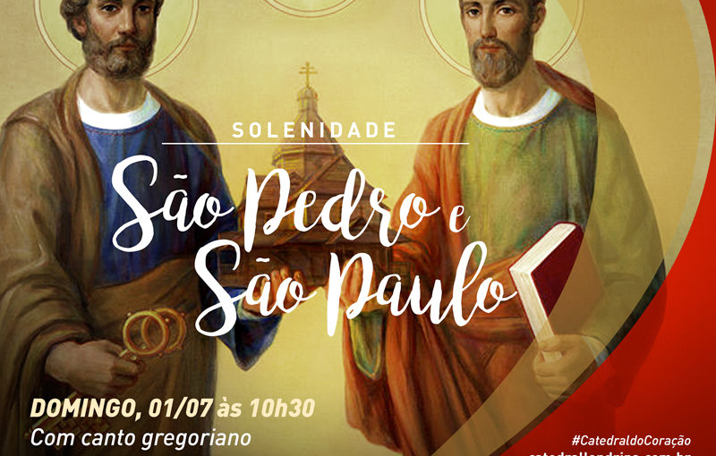 SÃO PEDRO E SÃO PAULO