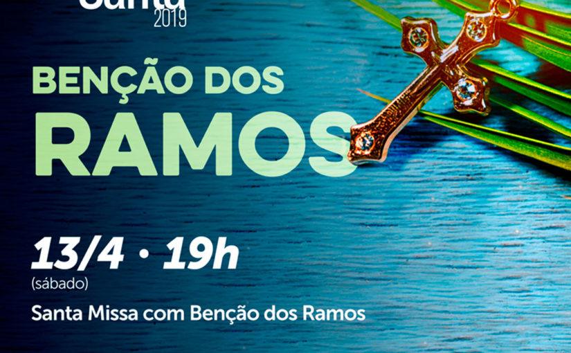 13/04 – Benção dos Ramos