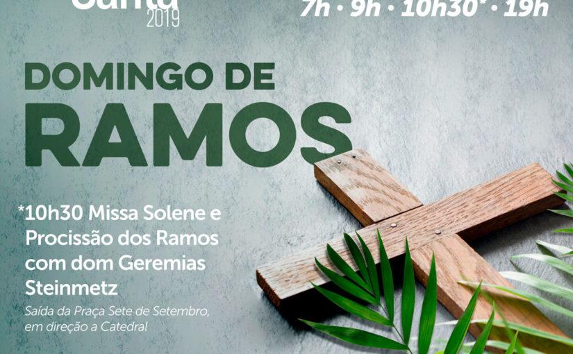 14/04 – Domingo de Ramos