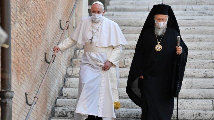 O Papa: a caridade de Santo André, força para os tempos difíceis