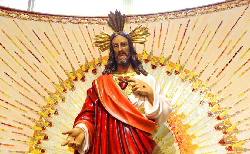 Venham visitar o Sagrado Coração de Jesus