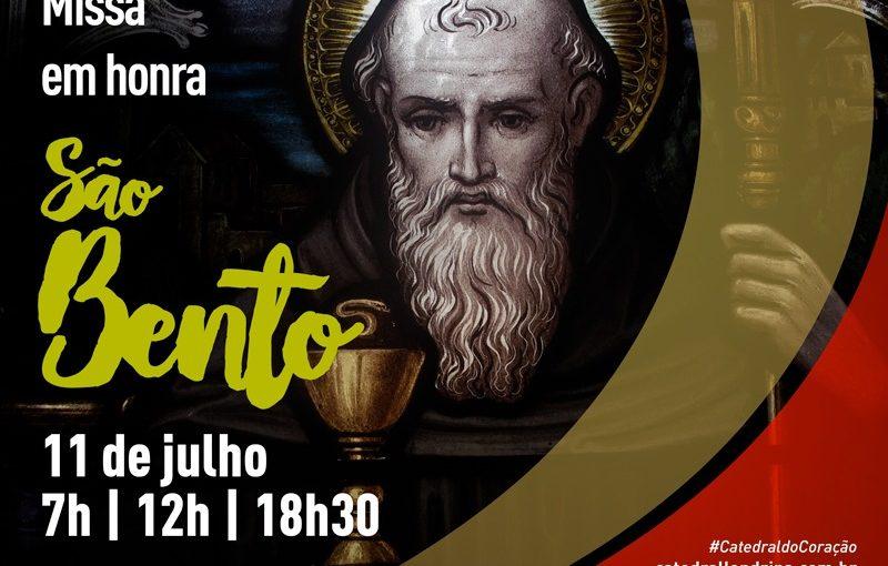 SÃO BENTO – 11 de Julho