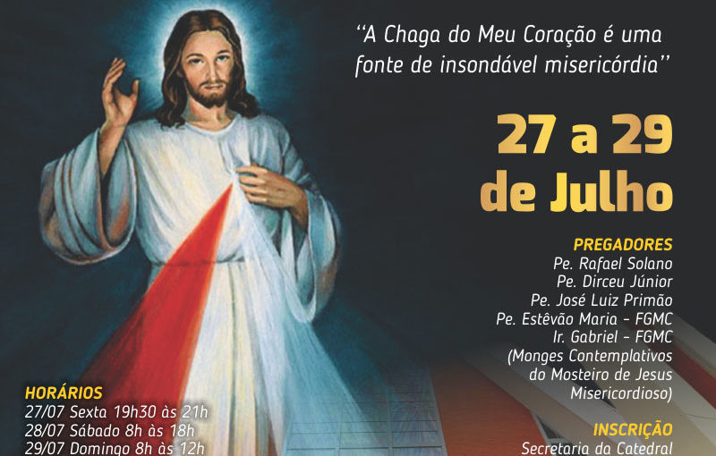 III CONGRESSO ARQUIDIOCESANO DA DIVINA MISERICÓRDIA