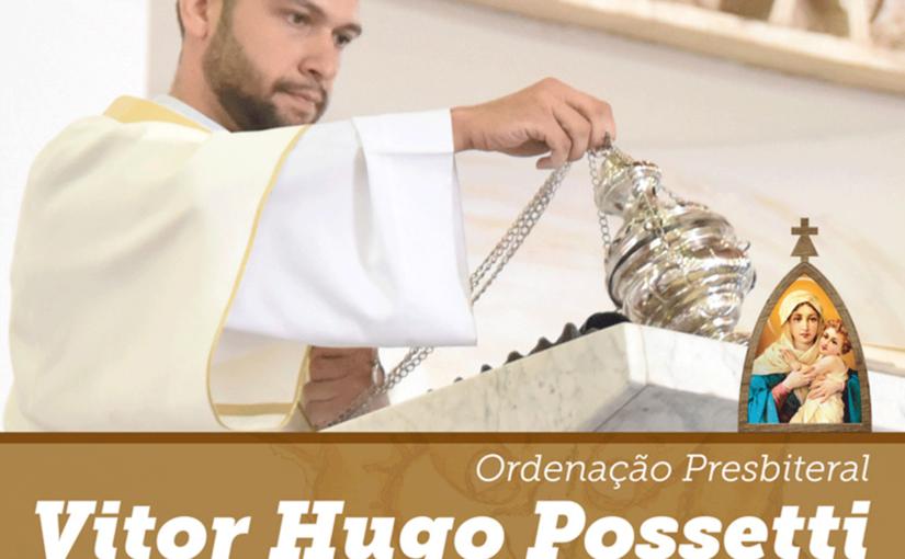 Ordenação presbiteral do Diácono Vitor