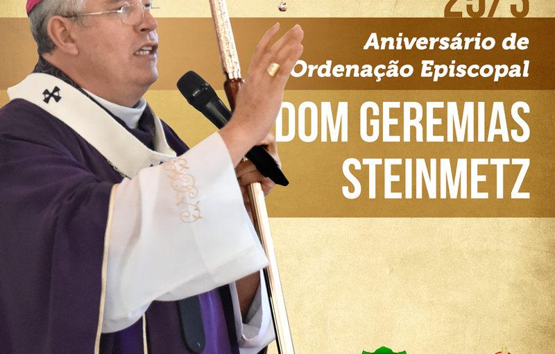 Aniversário de ordenação episcopal