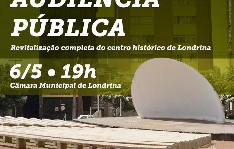 Audiência Pública pela revitalização do centro de Londrina