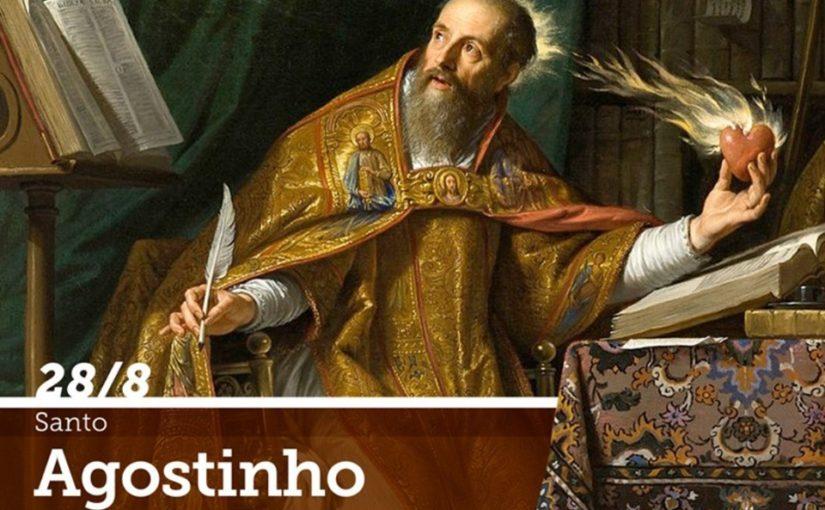 Santo Agostinho, bispo e doutor da Igreja