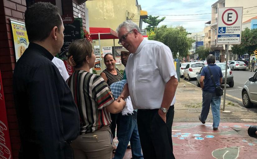 Visita Pastoral no centro de Londrina