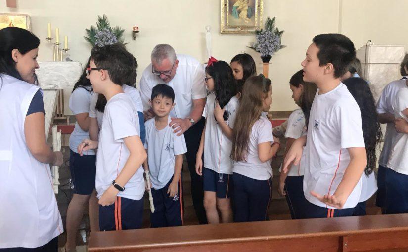 Visita Pastoral no Colégio Mãe de Deus