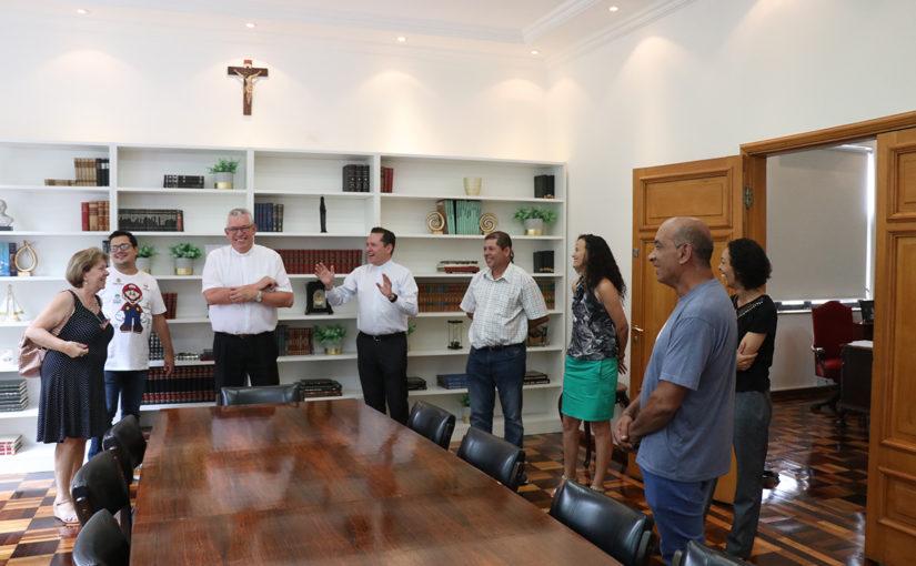 Visita Pastoral com os funcionários da Catedral