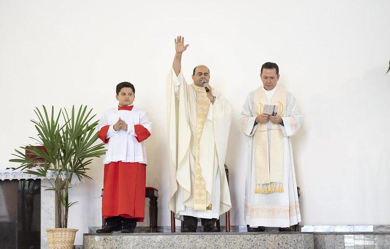Catedral acolhe novo vigário