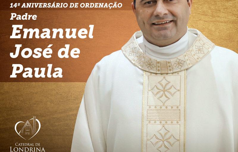 Parabéns Padre Emanuel!