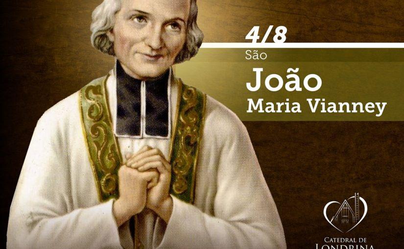 4 de agosto – São João Maria Vianney