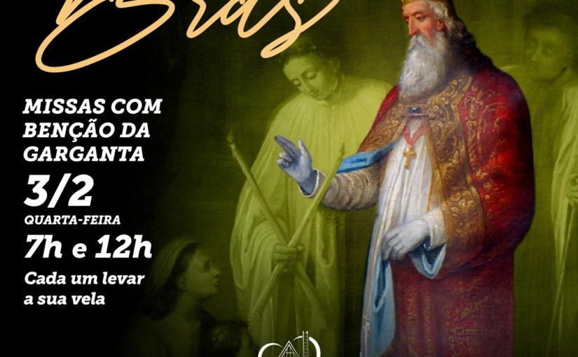 Missa de São Brás com bênção da garganta