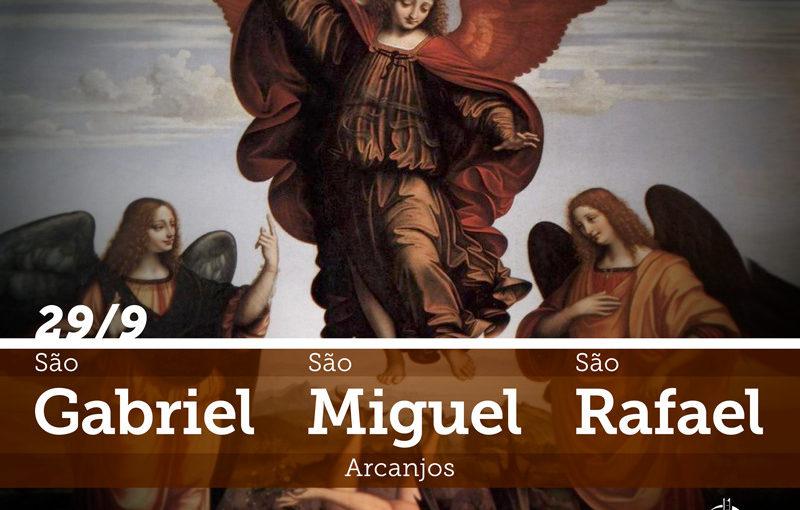 SÃO GABRIEL, SÃO MIGUEL E SÃO RAFAEL, ARCANJOS