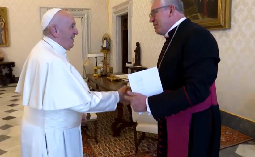 Papa recebe Dom Geremias e demais bispos paranaenses